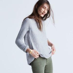 Madewell Riverside Textured Sweater, Gray